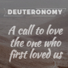 Deuteronomy series artwork